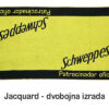 Jacquard dvobojna izrada